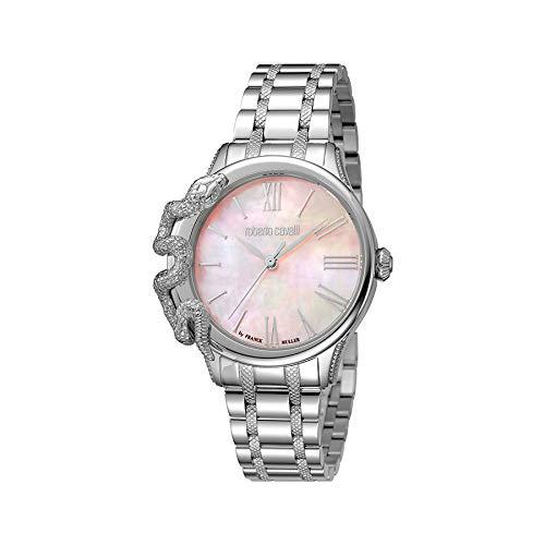 Reloj Mujer Roberto Cavalli by Franck Muller rv1l023 m0051 Acero Rosa