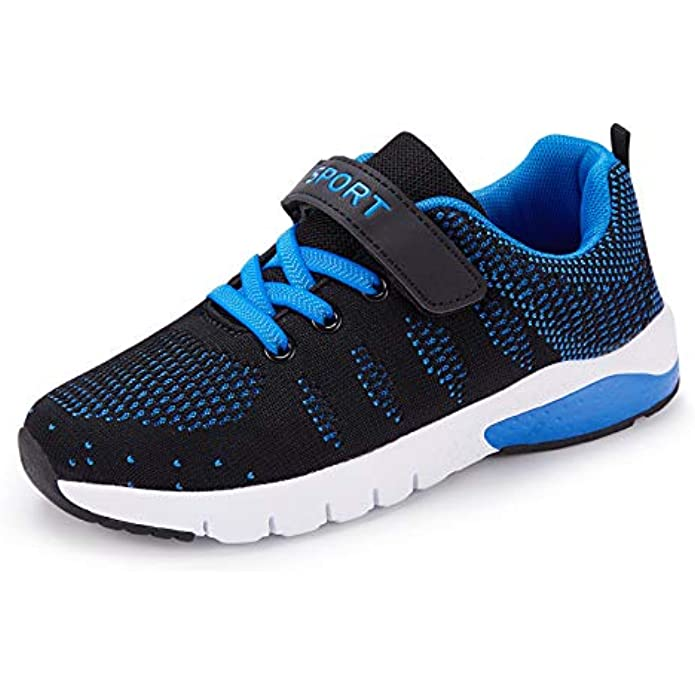 Caitin Kids Running Tennis Shoes Lightweight Casual Walking Sneakers for Toddler Little Big Boys and Girls