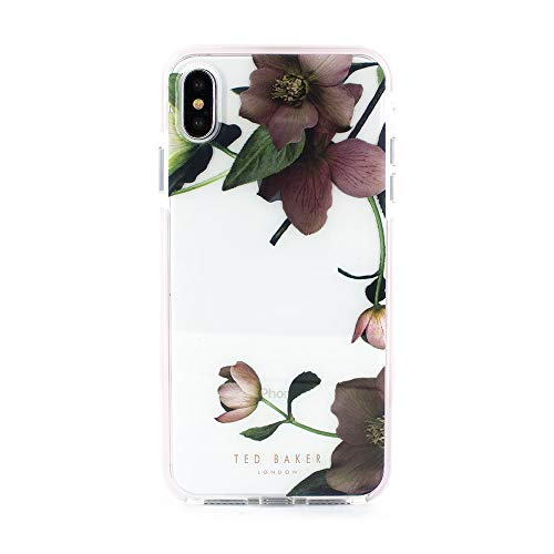 Ted Baker Fashion Scratch Resistant Anti Shock Case for iPhone Xs Max, Protective Cover iPhone Xs Max for Professional Women/Girls - Arboretum