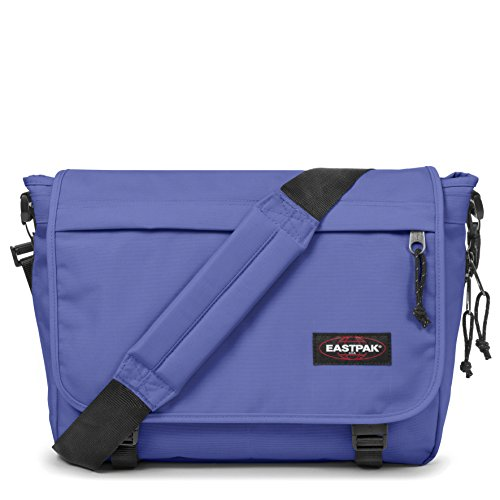 Eastpak Delegate Umhängetasche, 39 cm, 20 L, Schwarz Insulate Purple