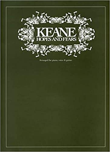 Keane: Hopes and Fears Arranged for Piano, Voice and Guitar: Amazon ...