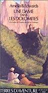 Une dame dans les Dolomites par Edwards