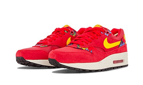 Nike Air Max 1 Print - Zapatillas Mujer university red sail black 602