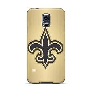 Samsung Galaxy S5 VXj20026PnCy Customized Beautiful New Orleans Saints Skin Bumper Phone Cases -CharlesPoirier
