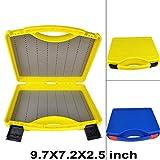 Aventik Streamer Fly Box SF-I Click Lock Large Fly Box 9.5X7X2.5 inch/ 242X180X64mm Fly Fishing (Blue)
