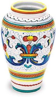 Arte D'Italia Imports Hand Painted Ricco Vase