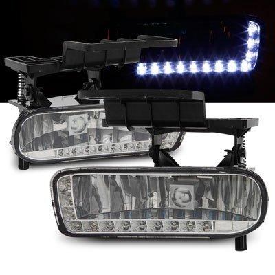 Amazon 99 02 Chevy Silverado DRL Daytime Running LED Fog Lights