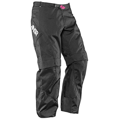 Mode Motorcycle Pants (Answer Racing Mode WMX Women's Dirt Bike Motorcycle Pants - Black/Pink / Size 12)