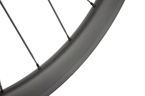 Superteam Carbon Fiber Clincher Road Bike Wheelset 700C25 Matt Finish 1 Pair by Queen Bike (Image #6)