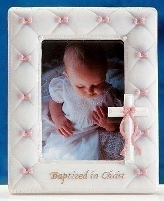 Pink Resin Baby Frame (7