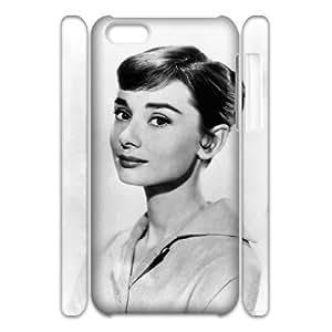 C-EUR Diy 3D Case Audrey Hepburn for iPhone 5C