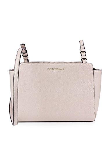 Cipria Logo Armani Femme Noir Grain Emporio Handbag wB4Y5qqx