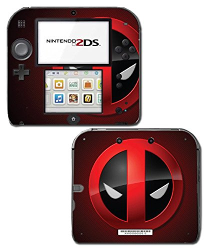 Price comparison product image Deadpool Logo Face 2 Special Edition Game Movie Vinyl Decal Skin Sticker Cover for Nintendo 2DS System Console
