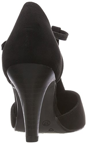 Jane Klain Damen 224 042 Riemchenpumps Schwarz (Black)