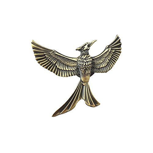 The Hunger Games Mockingjay Movie Brooch Pin 2015