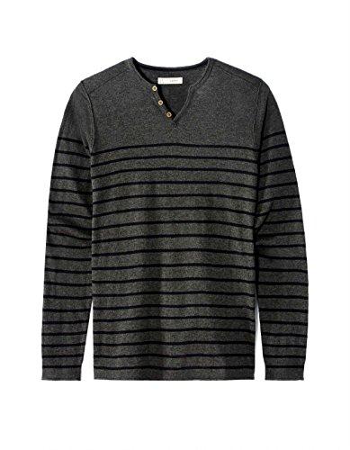 Leasy Antracite Sweater Men's Celio heather Grey HCdwqCg4