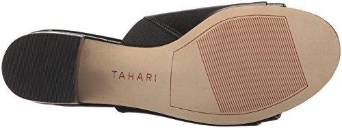 Women''s Ta Tahari daisie Slide Black Sandal Addw6Zq5r