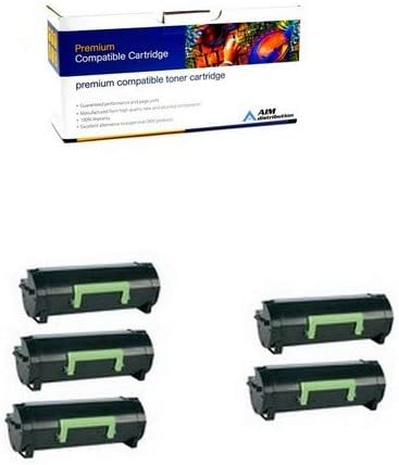 Black Compatible Toner Prem Dell B5460Dn 25,000 Page Yield