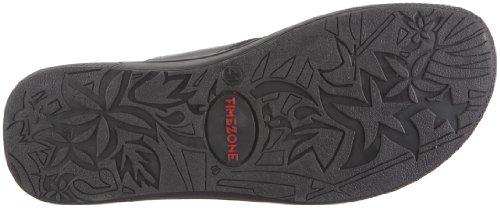 Timezone Barbados FF cervo 95010 Herren Sandalen/Zehentrenner Schwarz/Black