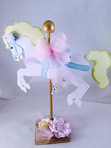 Amazon Com Carousel Horse Theme Party Centerpiece Carousel Baby