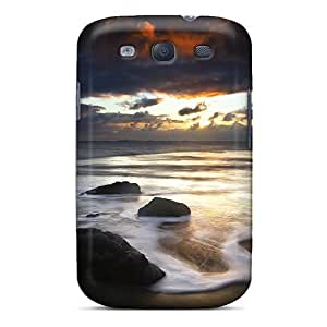 New Fashion Premium Tpu Case Cover For Galaxy S3 - Dark Beautiful Ocean