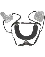 OP/TECH USA Dual Harness-Regular, Black
