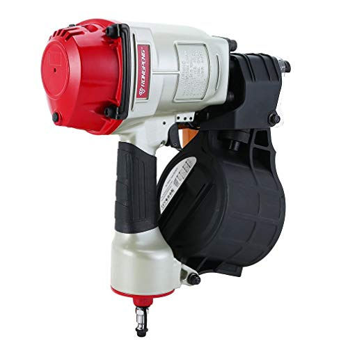 Homgrace MCN70 Pneumatic Coil Roofing Nailer 32-65mm For Roofing Fencing Framing