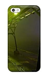 Grand Haven Storm Fog Pier Durable Iphone 5/5s Tpu Flexible Soft Case