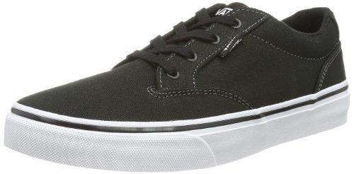 Vans Y WINSTON  (CANVAS) PEWTER - Zapatillas de lona infantil Negro (Canvas)