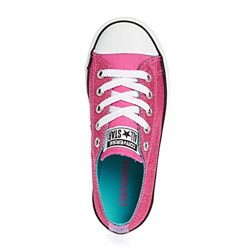 Converse Chuck Taylor All Star East Coaster Pink Paper Textile Youth Trainers Pink Paper