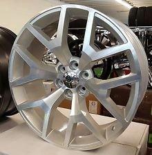 Amazon Com 24 Inch Gmc Sierra Wheels Tires Fit Chevy Gmc Nissan