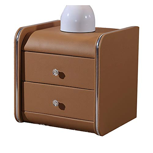 - Folding desk Bedside Table with 2 Drawers, End/Tea Table/NightStand, Bedside Cabinet Locker 14 Colors 35/40 X 43 X 48cm (Color : 4, Size : 35cm)