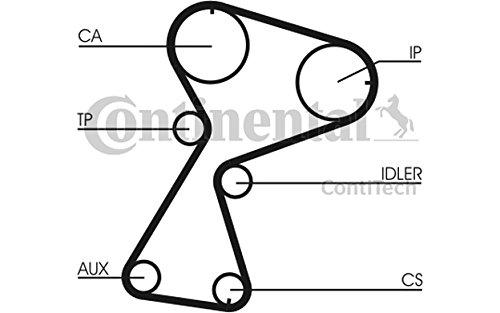Contitech CT949 K2 Timing Belt Kit CT949K2