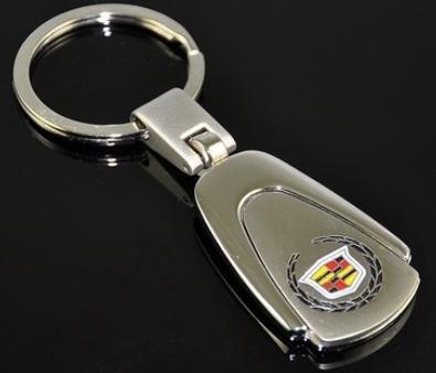 Key Ring for Cadillac Harvard kid Premium Chrome key fobs Key Chain