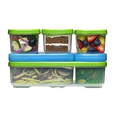 Rubbermaid Lunch Blox Container  Entrée Kit