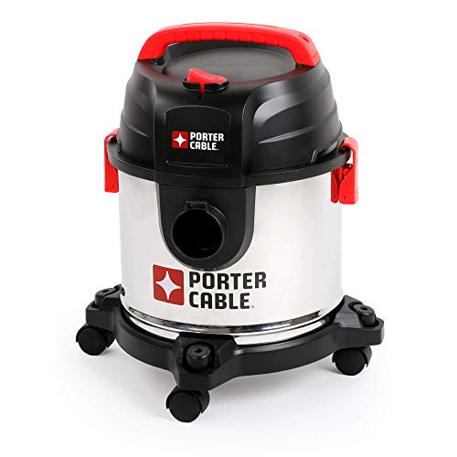 Porter-Cable PCX18301-4B 4 Gallon 4Hp Wet/Dry Vacuum (Certified Refurbished)