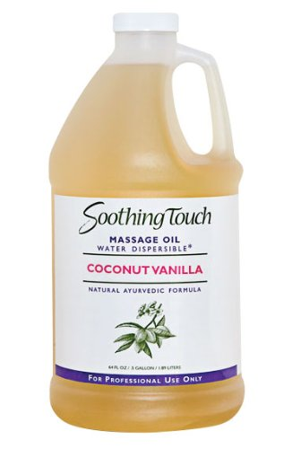 Soothing Touch W67357H Coconut Vanilla Oil, 1/2 Gallon