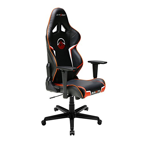 DXRacer Racing Series DOH/RZ202/NGO Newedge Edition Racing Bucket Seat Office Chair Gaming Chair Ergonomic Computer Chair eSports Desk Chair Executive Chair Furniture With Pillows For Sale