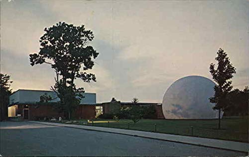 Dayton Museum of Natural History - Frank M. Tait Auditorium & Planetarium Original Vintage Postcard