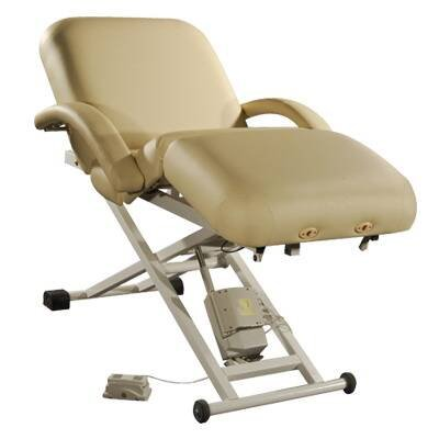 Electric-Lift-Massage-Spa-Table-with-Headrest-and-Arm-Shelf