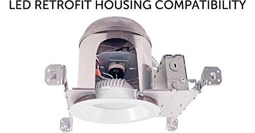 3RD PARTY P184 Merits P184 12V 55Ah Wheelchair Battery LED Downlight Housing Compatibility - RAB Lighting