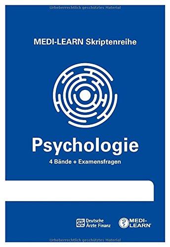 MEDI-LEARN Skriptenreihe: Psychologie im Paket - In 30 Tagen durchs schriftliche und mündliche Physikum