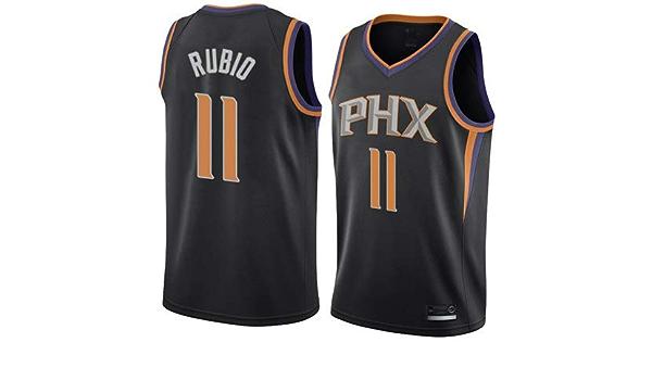 K&A Camiseta Ricky Rubio Phoenix Suns Negra para Hombre & Niño, Camiseta Ricky Rubio Phoenix Suns Statement Edición Swingman para Hombre & Niño (Negra, Hombre S): Amazon.es: Deportes y aire libre