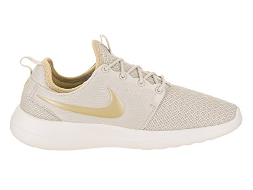 Nike Womens Roshe Due Liht / Bone / Mtlc / Gld / Star Scarpa Da Corsa 10 Donne Us