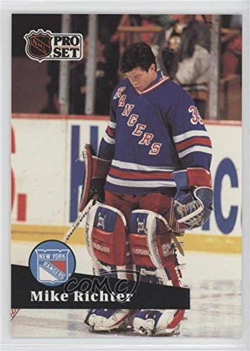Mike Richter (Hockey Card) 1991-92 Pro Set - NHL Awards Special #AC 2