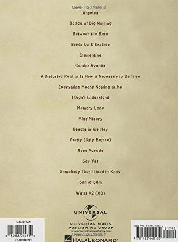 Amazon Elliott Smith Songbook 9781423440130 Elliott Smith