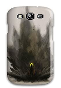 Series Skin Case Cover For Galaxy S3(evil)