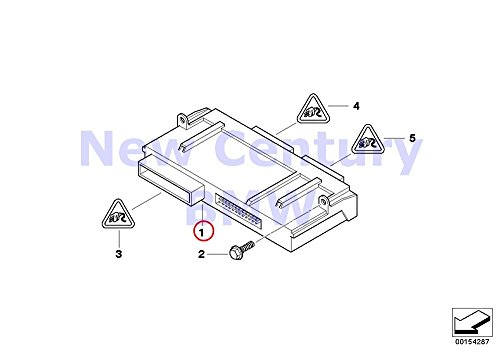 BMW Genuine Control Unit Junctionbox Elektronik Junction Box For Electronics 3 128i 135i M Coupé Active e X1 28i X1 28iX X1 35iX 128i 135i Z4 28i Z4 30i Z4 ()