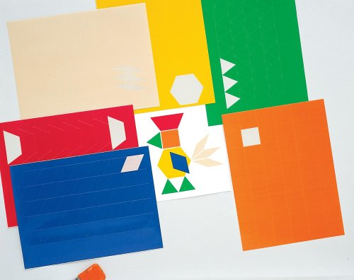 (Carson Dellosa Ideal School Supply Pattern Blocks Stickers (1564518124))