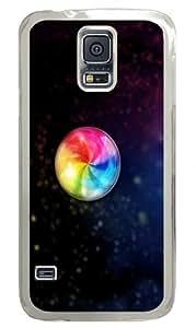 Beach ballin bokeh Polycarbonate Hard Case Cover for Samsung S5/Samsung Galaxy S5 Transparent